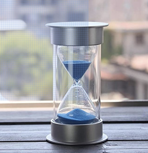 5 Minute Blue Hourglass